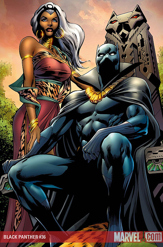 Storm & Black Panther credit: Marvel Studios