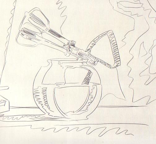 Andy Warhol, Still Life (Detail) 1975