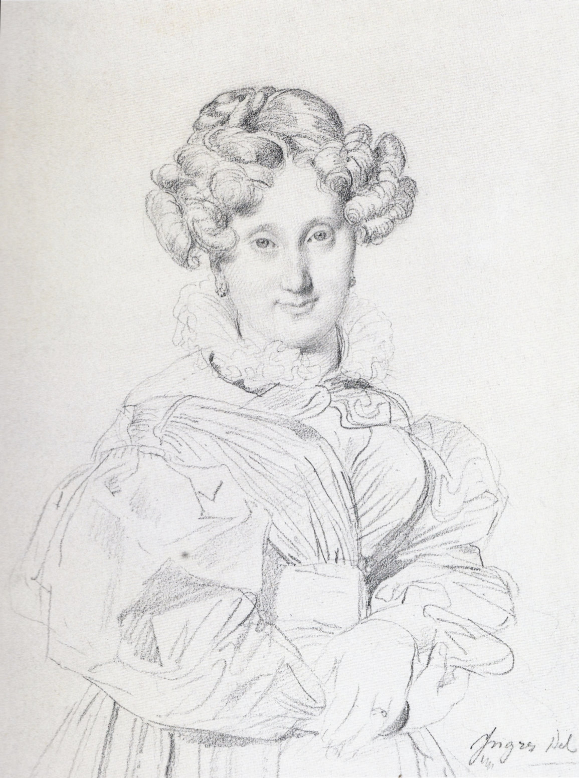 Portrait of Madame Louis-Francois Godinot, 1829