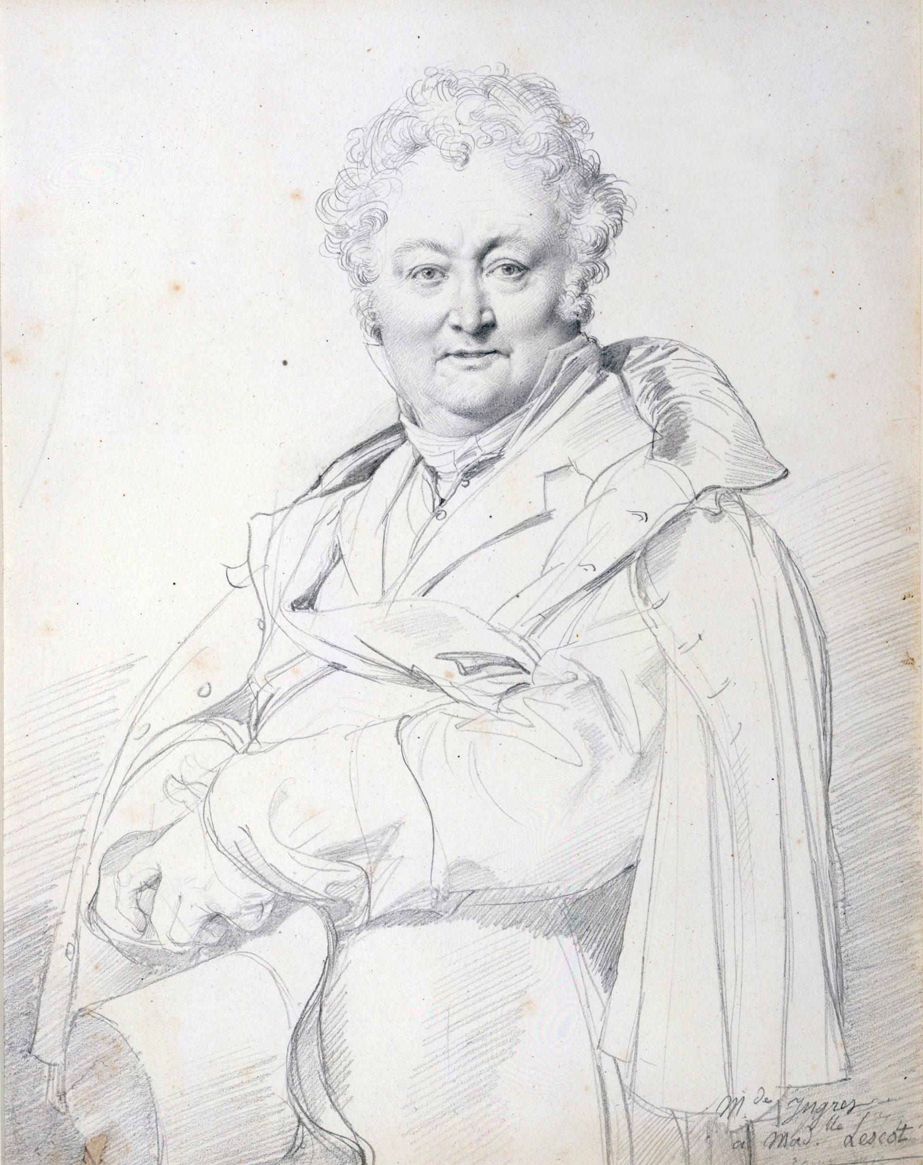 Portrait of Guillaume Guillon Lethière, 1815