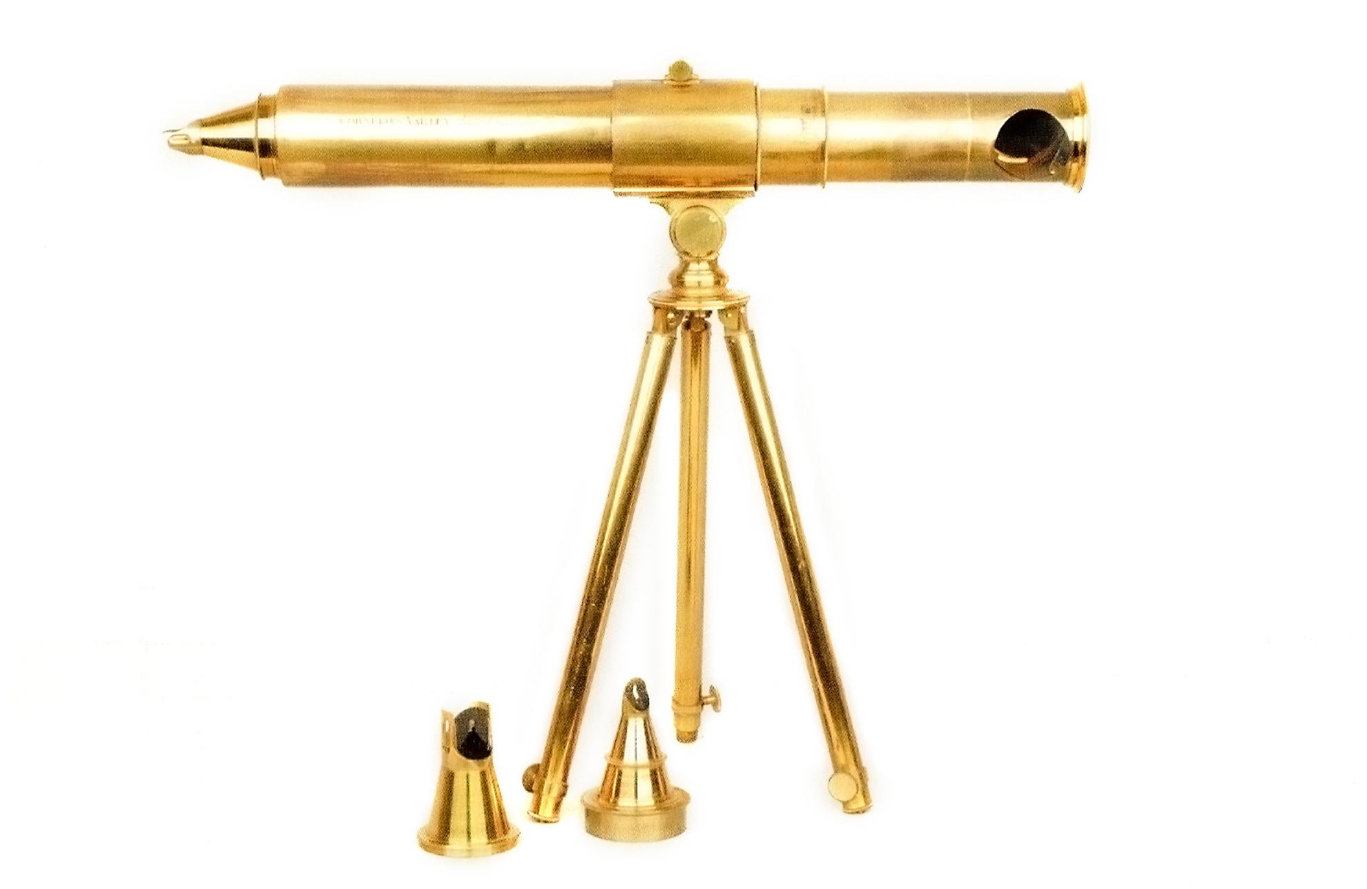 Cornelius Varley's Patent Graphic Telescope with interchangeable accessories. (Whipple Collections, Cambridge University)