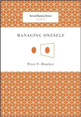 MANAGING ONESELF