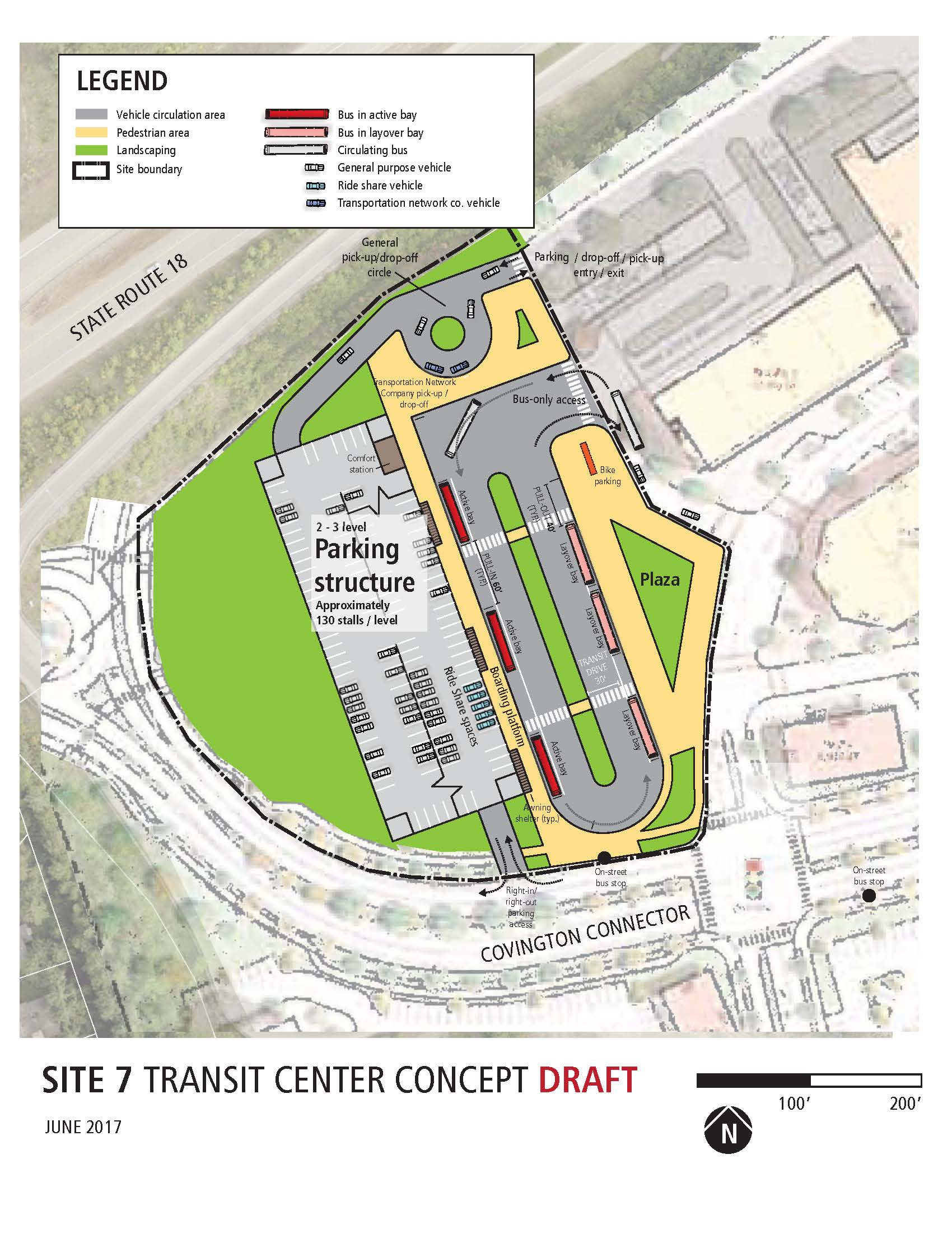 COVINGTON TRANSIT CENTER STUDY