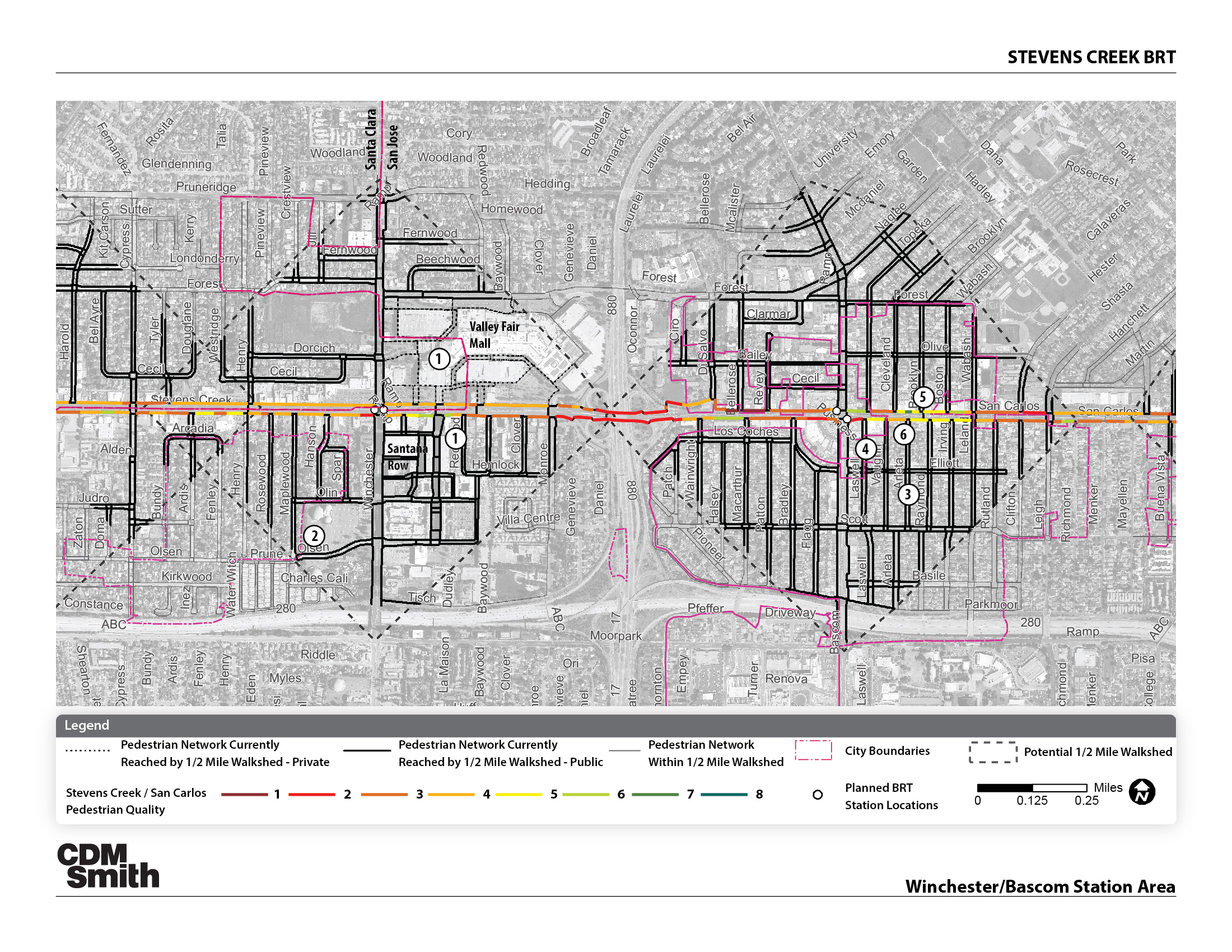 STEVENS CREEK BUS RAPID TRANSIT PLAN