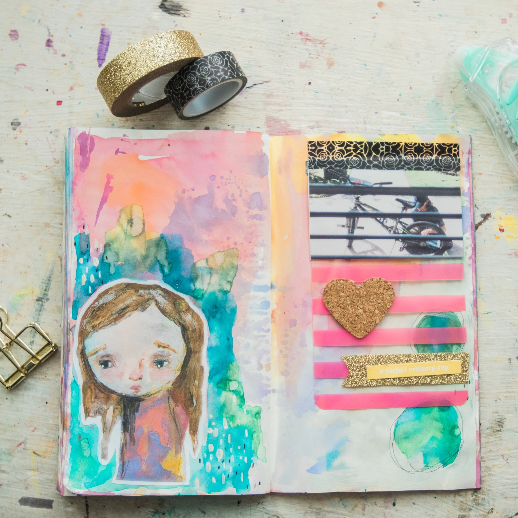 See this page come together in the  Journal With Me Bundle: Pack 1 .