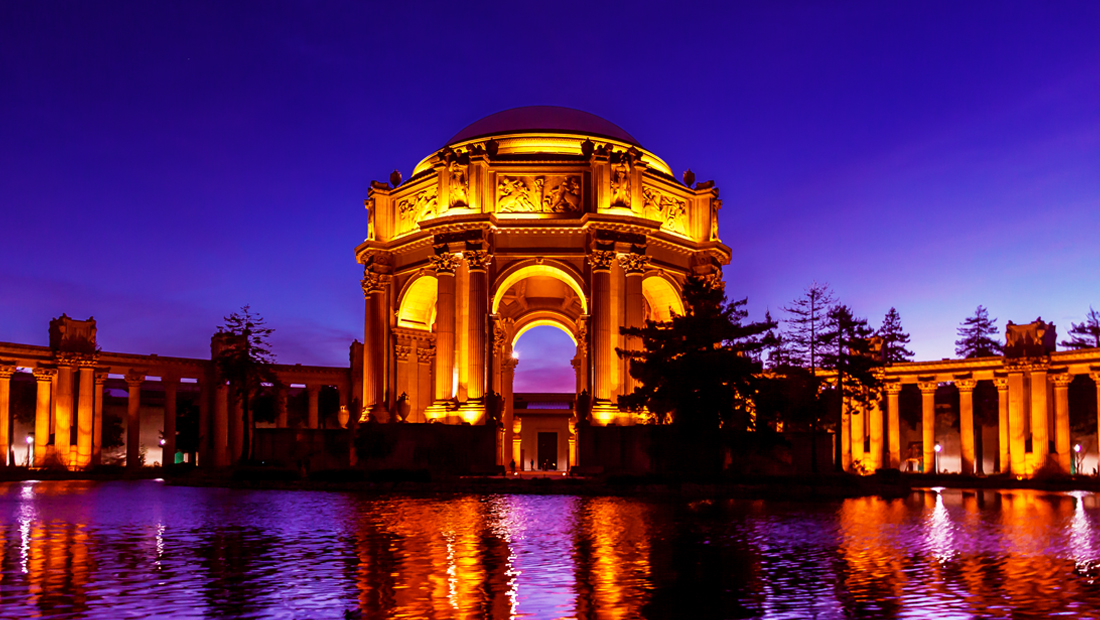 The new updates to the original Palace of Fine Arts photo taken in April 2103.