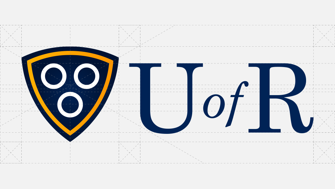 U of R logo concept architecture from Insomniac Studios.