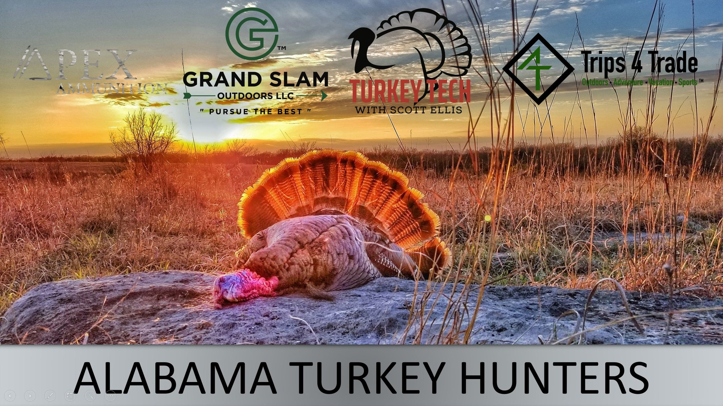 ALABAMA TURKEY HUNTERS   This is a Facebook group that was created in hopes of linking turkey hunters in the state an surrounding states. Also, to be able to help one another by passing on the legacy of turkey hunting.