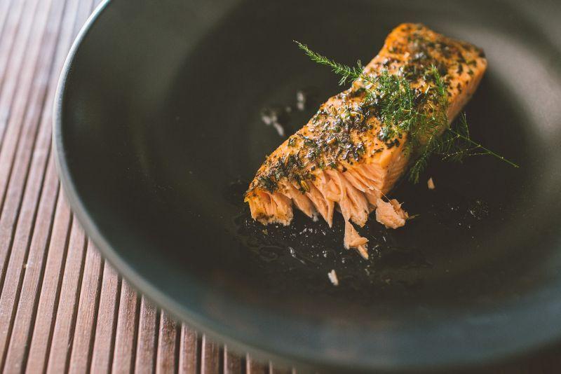 Seafood Sidekick Oven Roasted Salmon