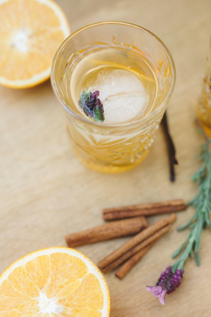 Baker's Best Friend Lavender Honey Whiskey Drink