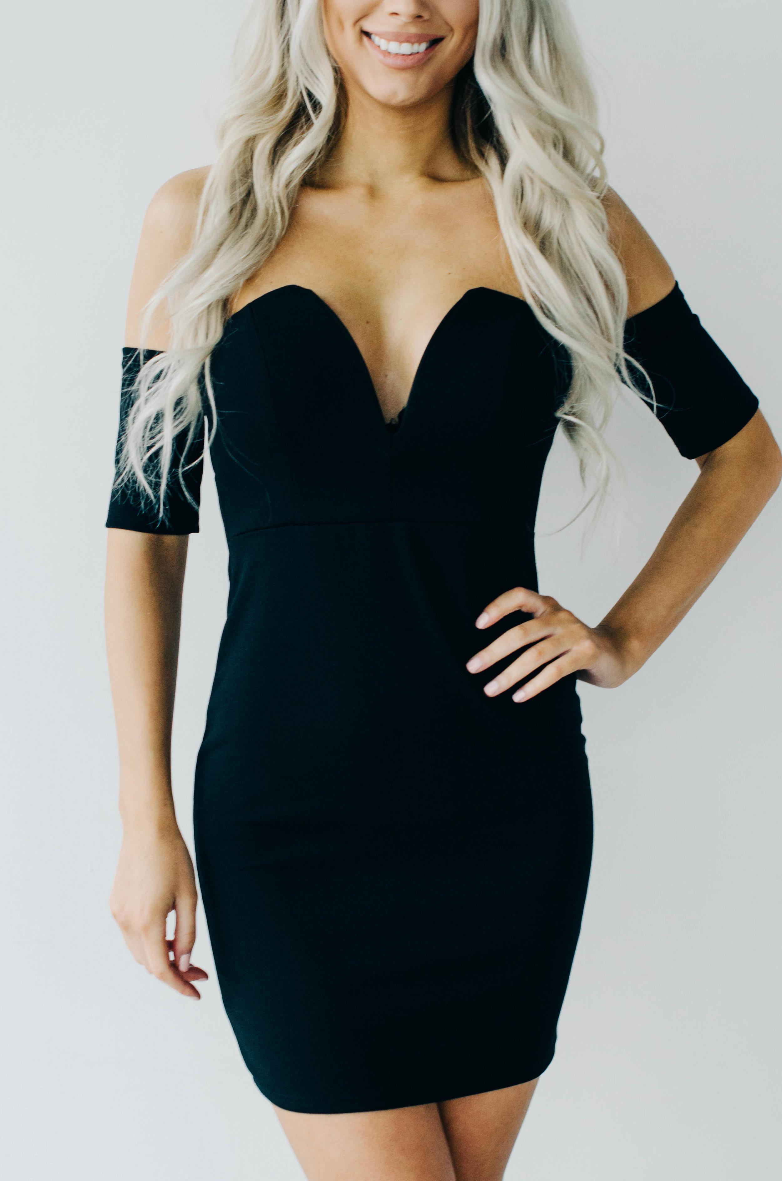 Off The Sholder Mini Dress