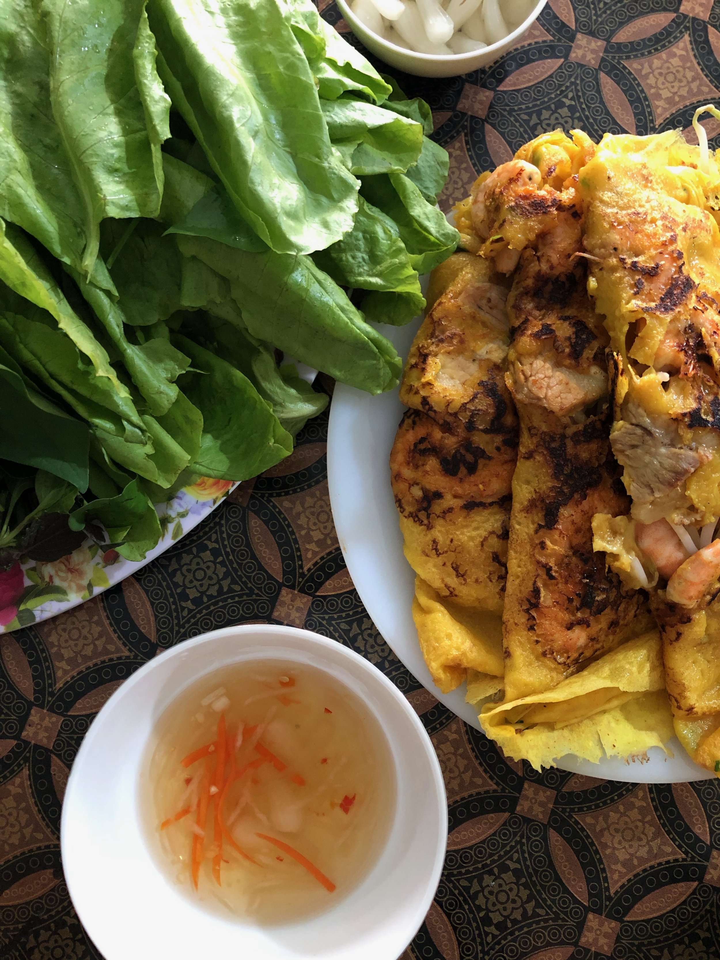 Banh Xeo - Savory Vietnamese Crepe