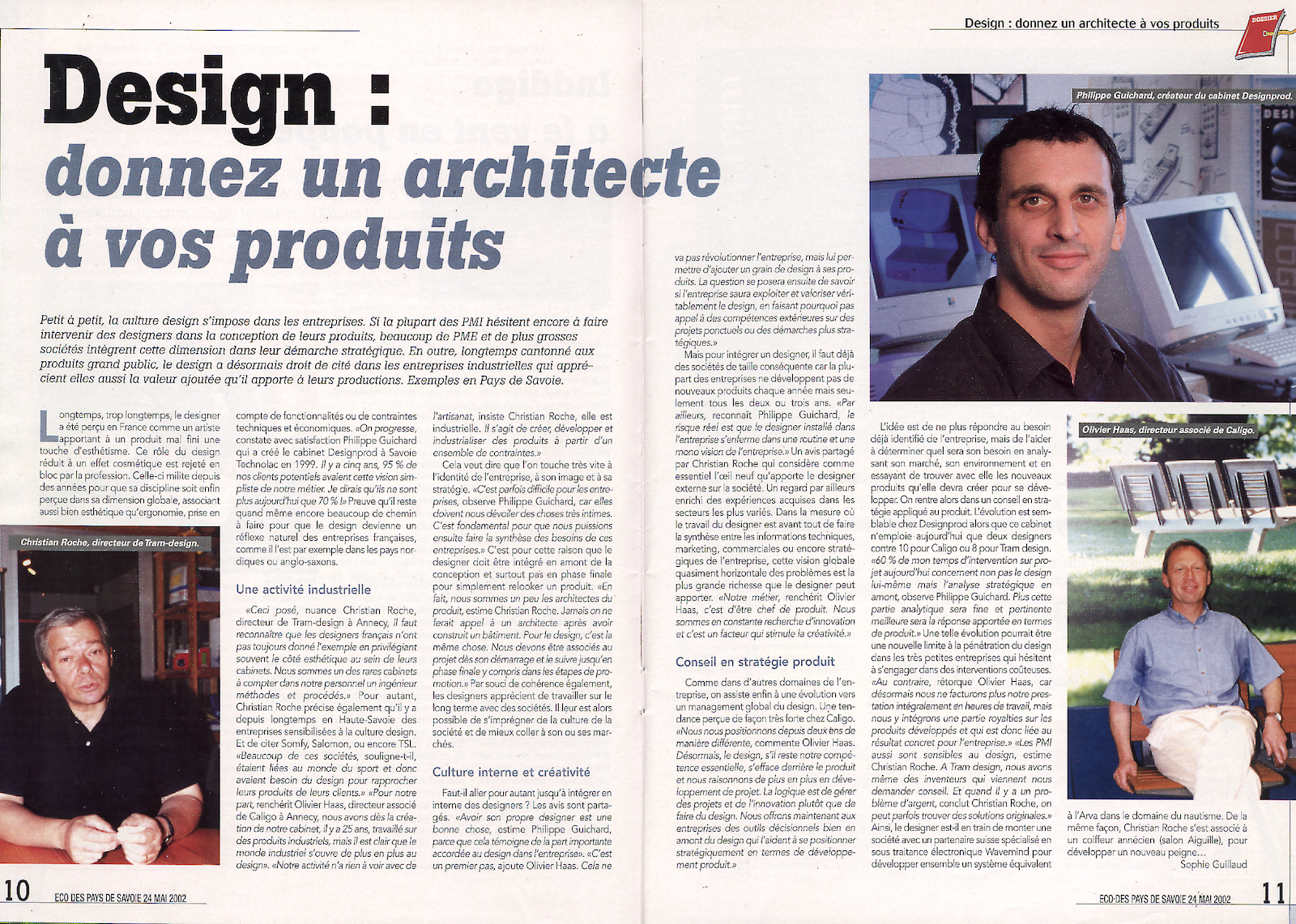 French magazine Philippe Guichard Designs.jpg