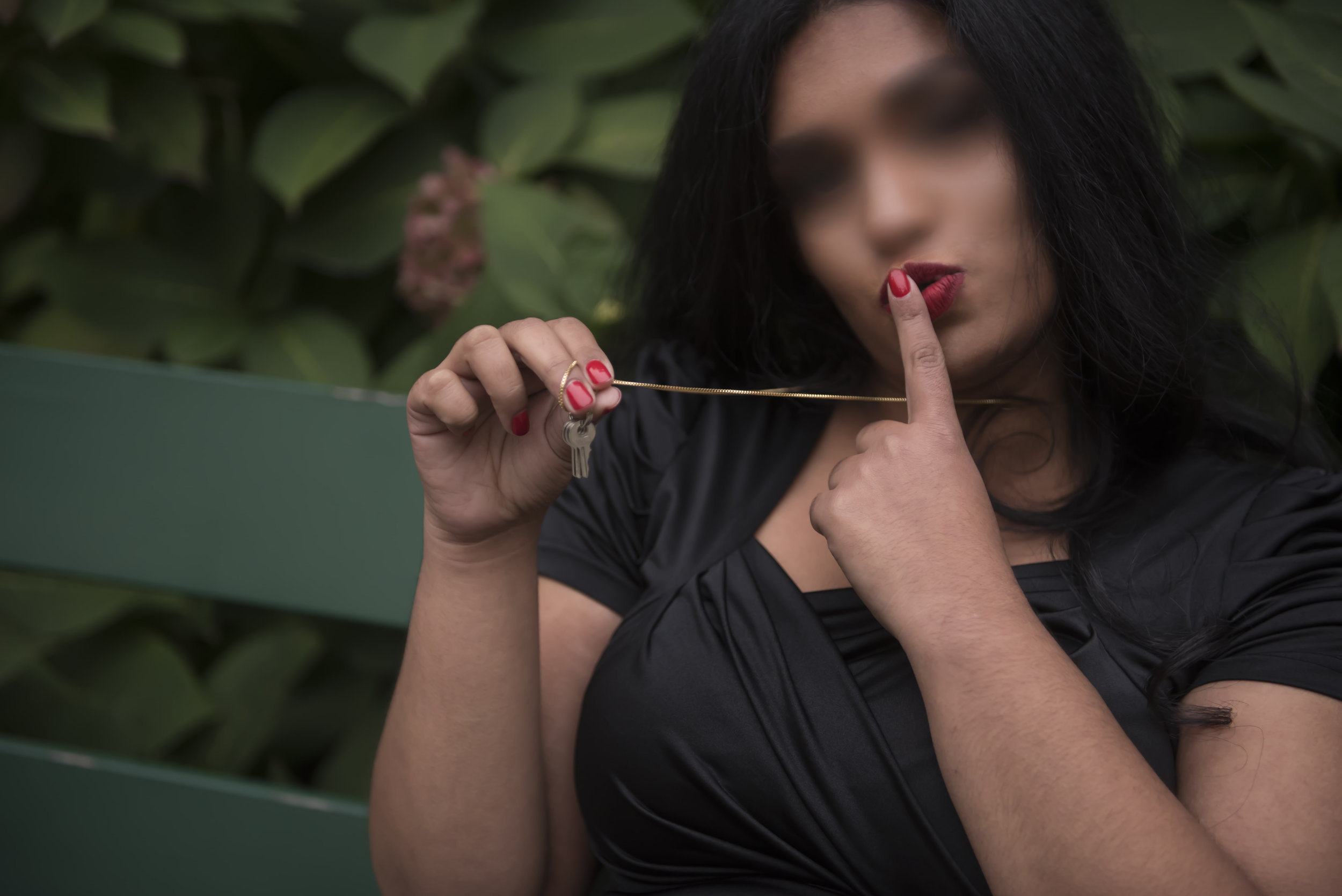 Chastity play and keyholding by East Indian Dominatrix and Escort Jasmine Praveena NYC Philadelphia, NJ, Washington DC
