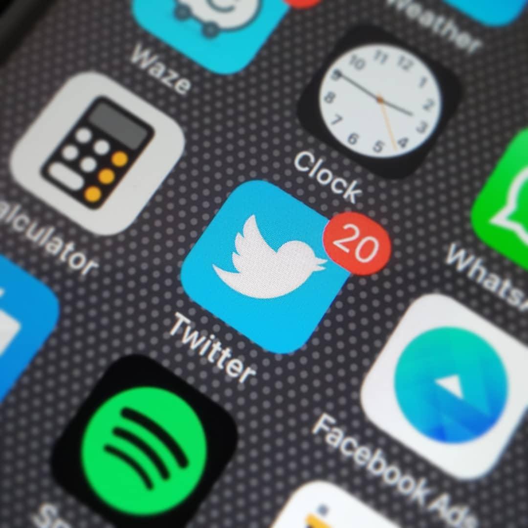 Twitter is a loud social media channel.