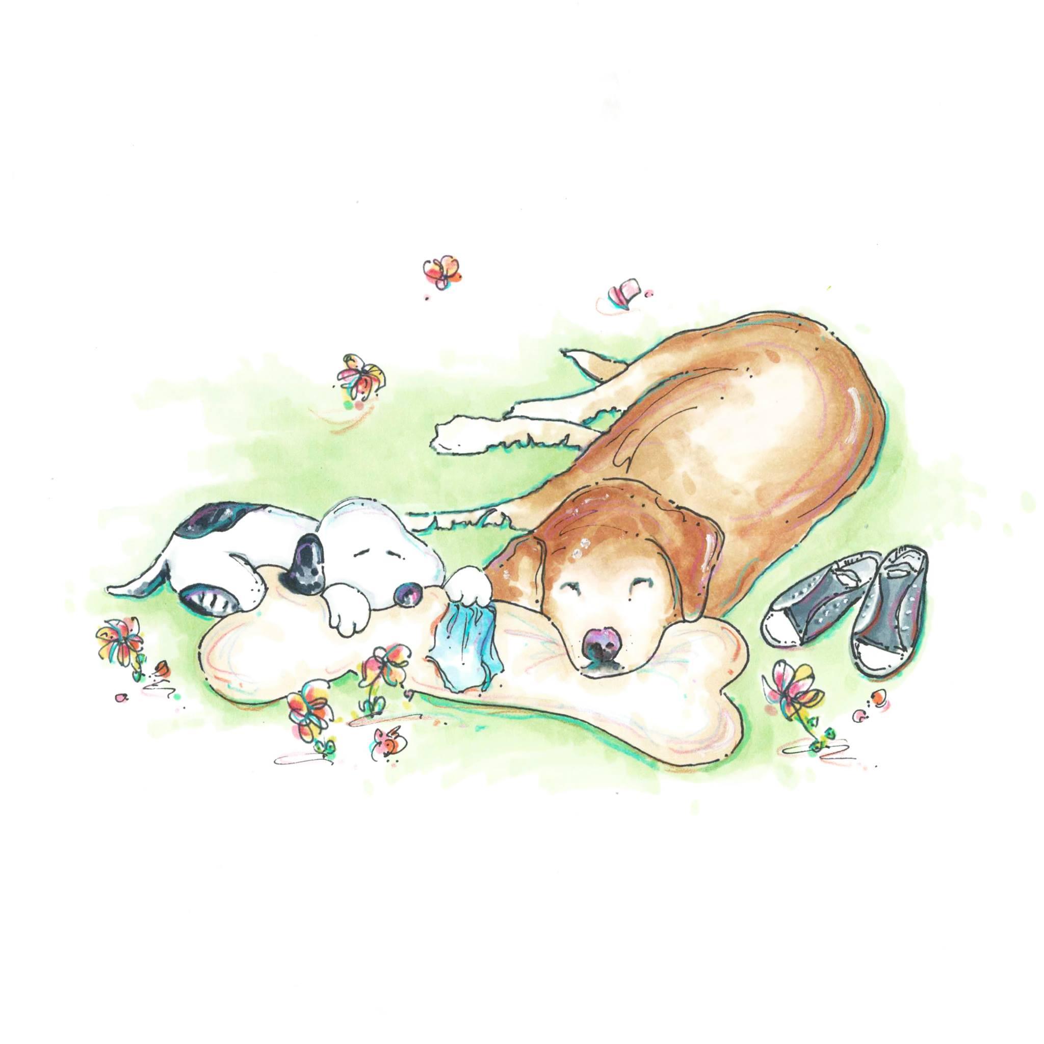Brewski and Snoopy.jpg