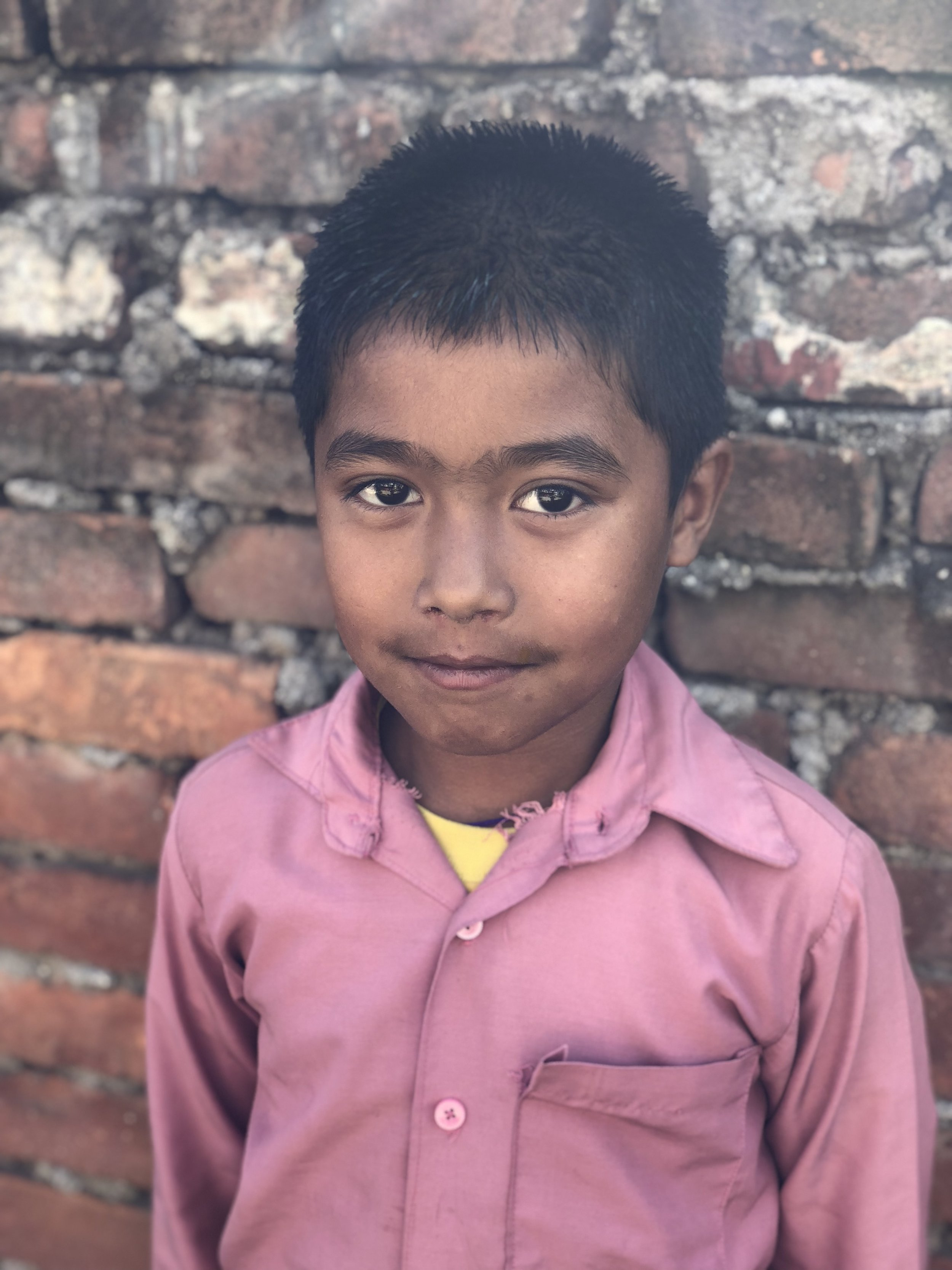 Sokul  Age 8  He wants to become a teacher