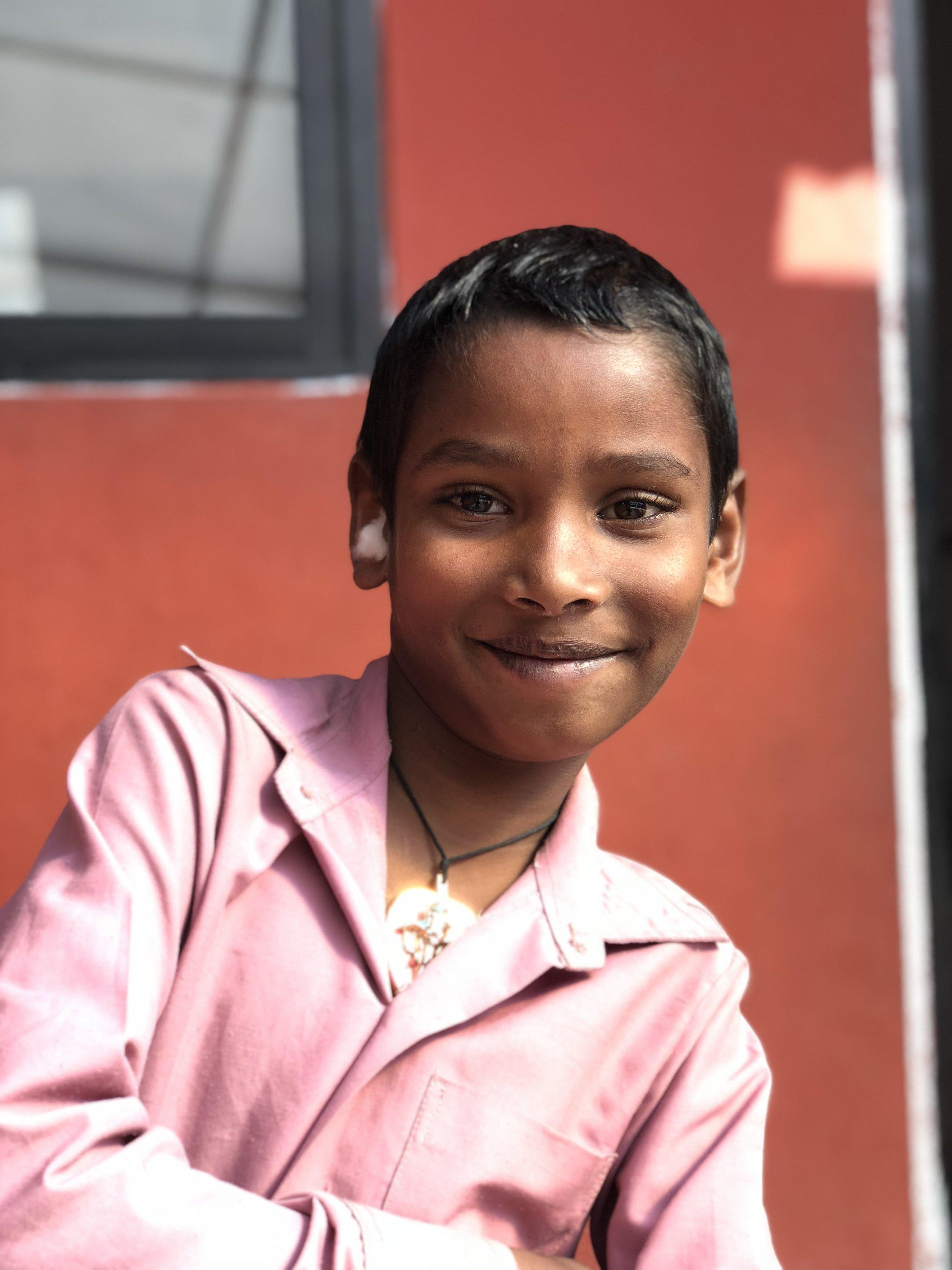 Rajkumar  Age 11  He wants to become a pilot