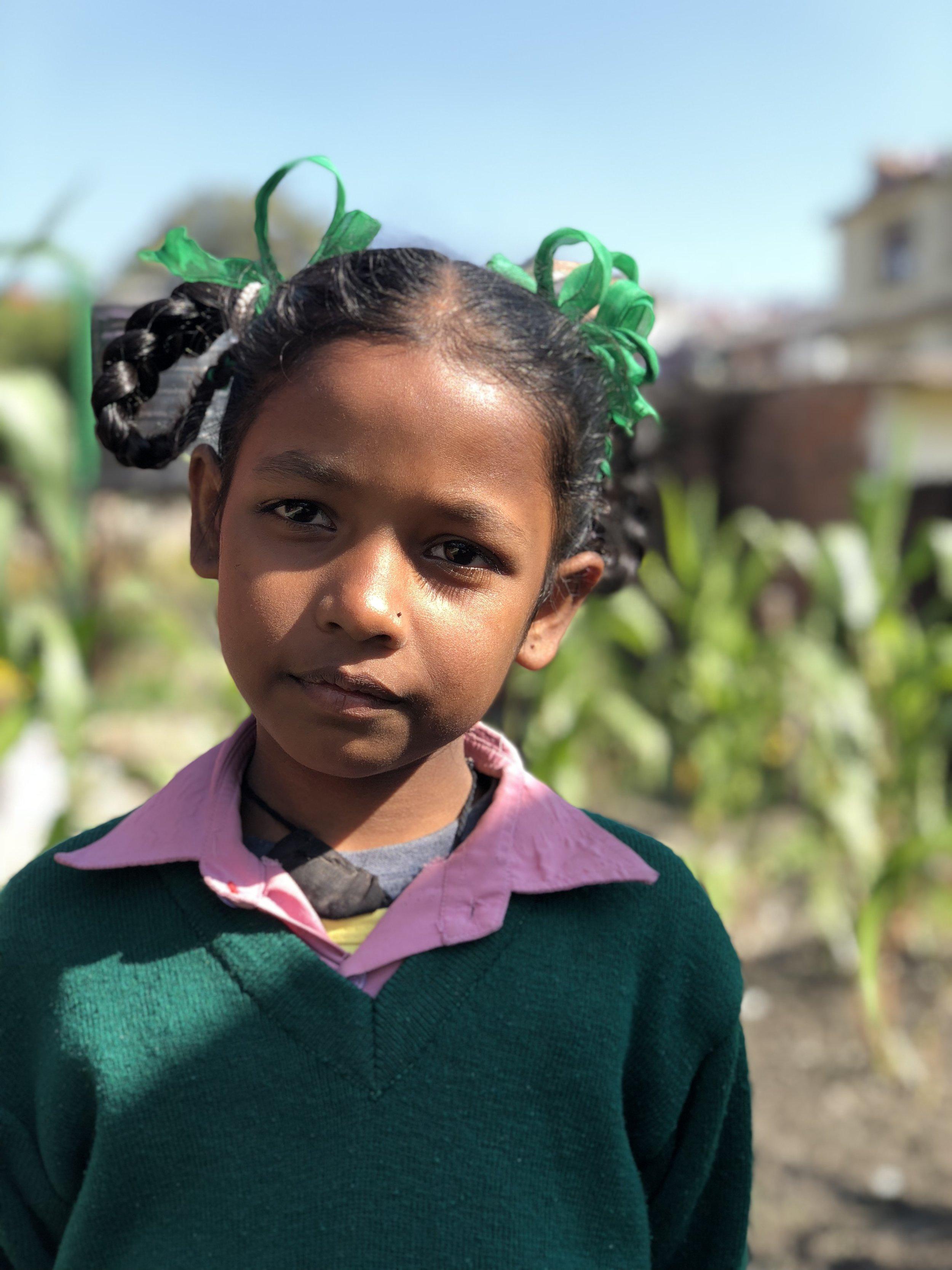 Jyoti  Age 8  Her favorite bird is the parrot