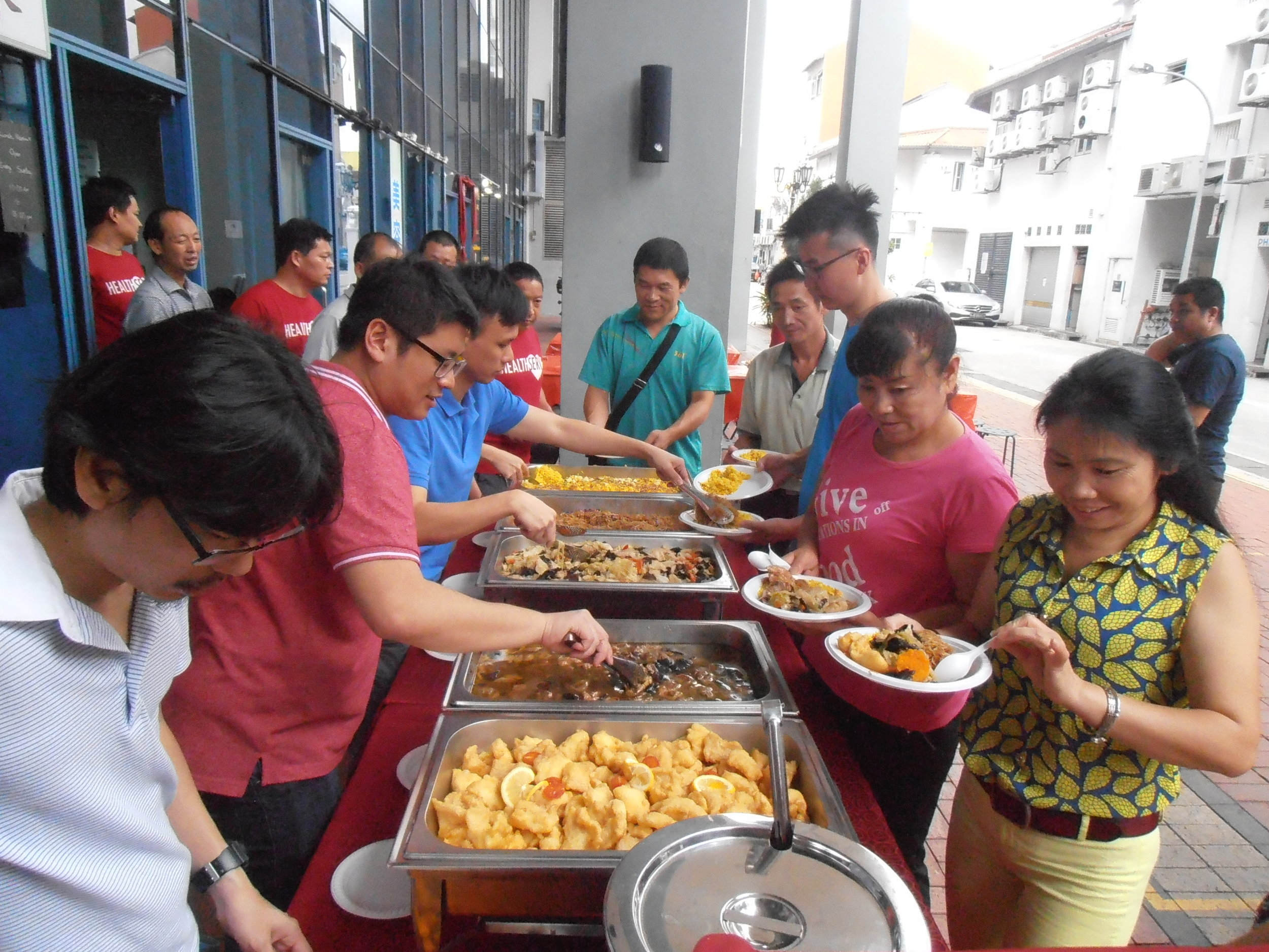 Celebrating Chinese New Year with the migrant worker community