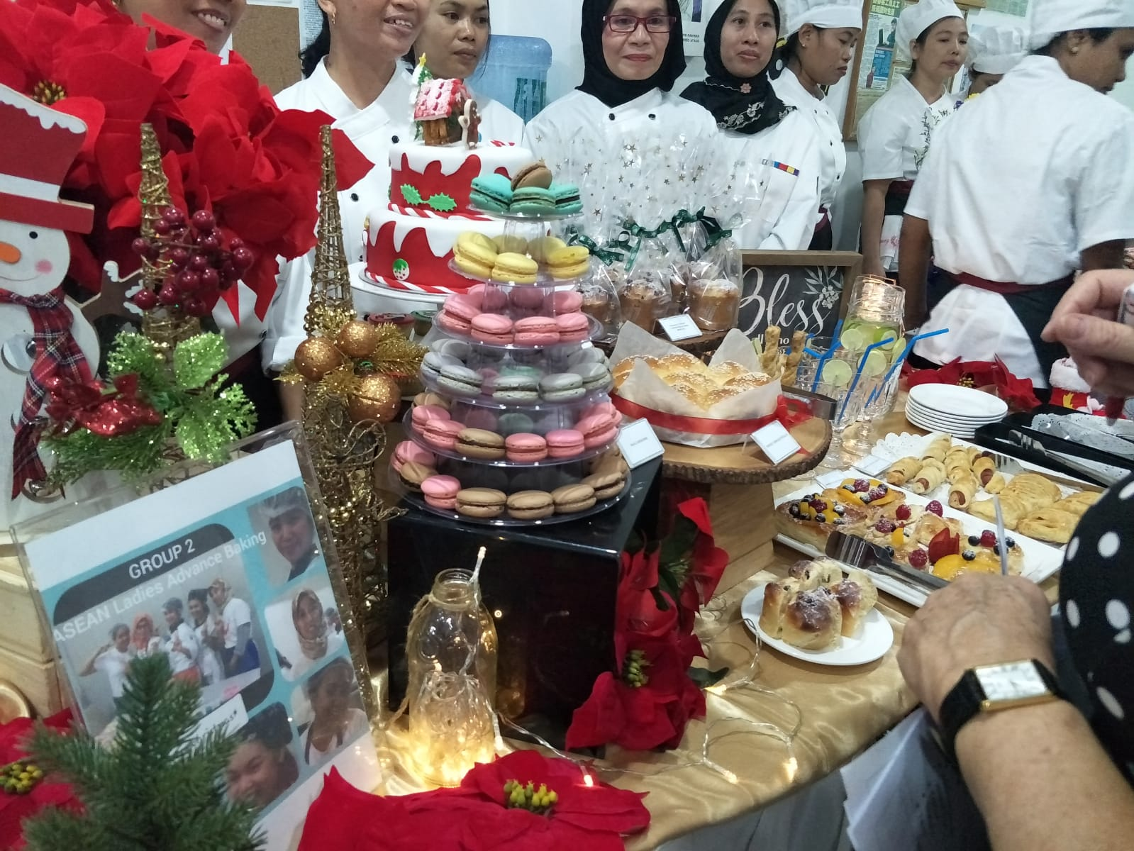 A delicious spread of baked goods by our HOME Academy students
