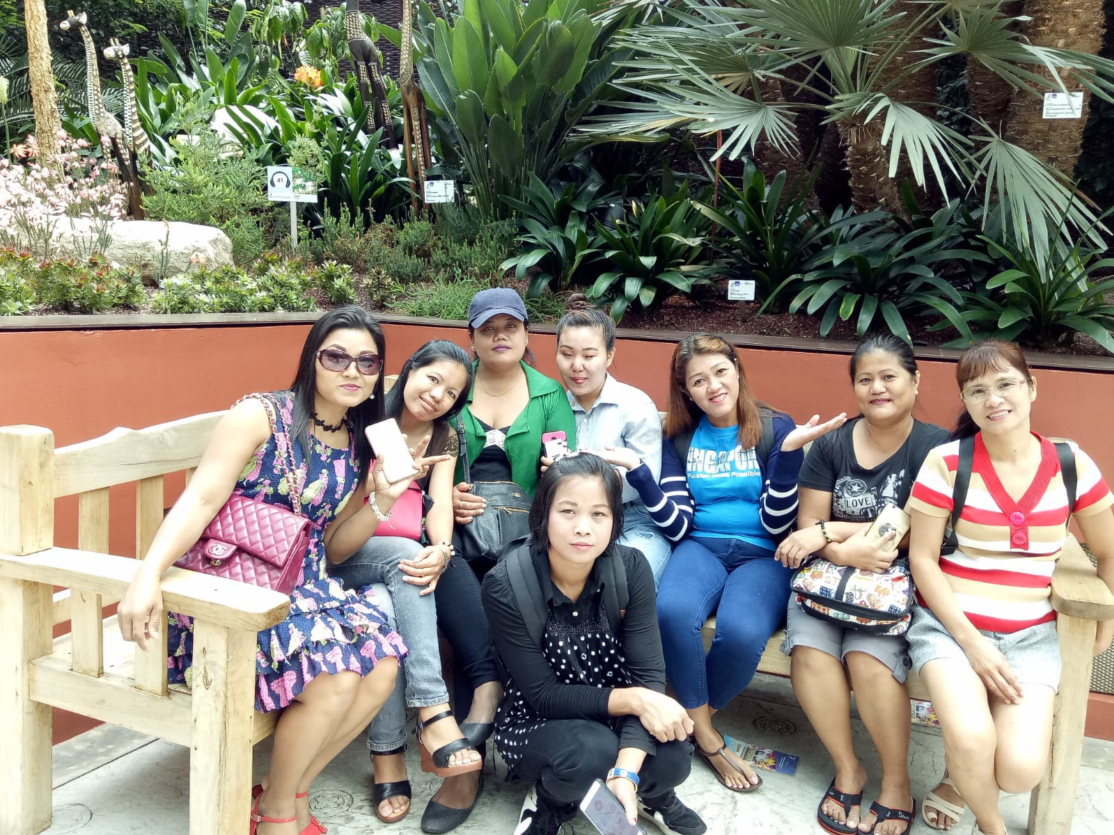 An outing to Gardens by the Bay with HOME Family's domestic workers