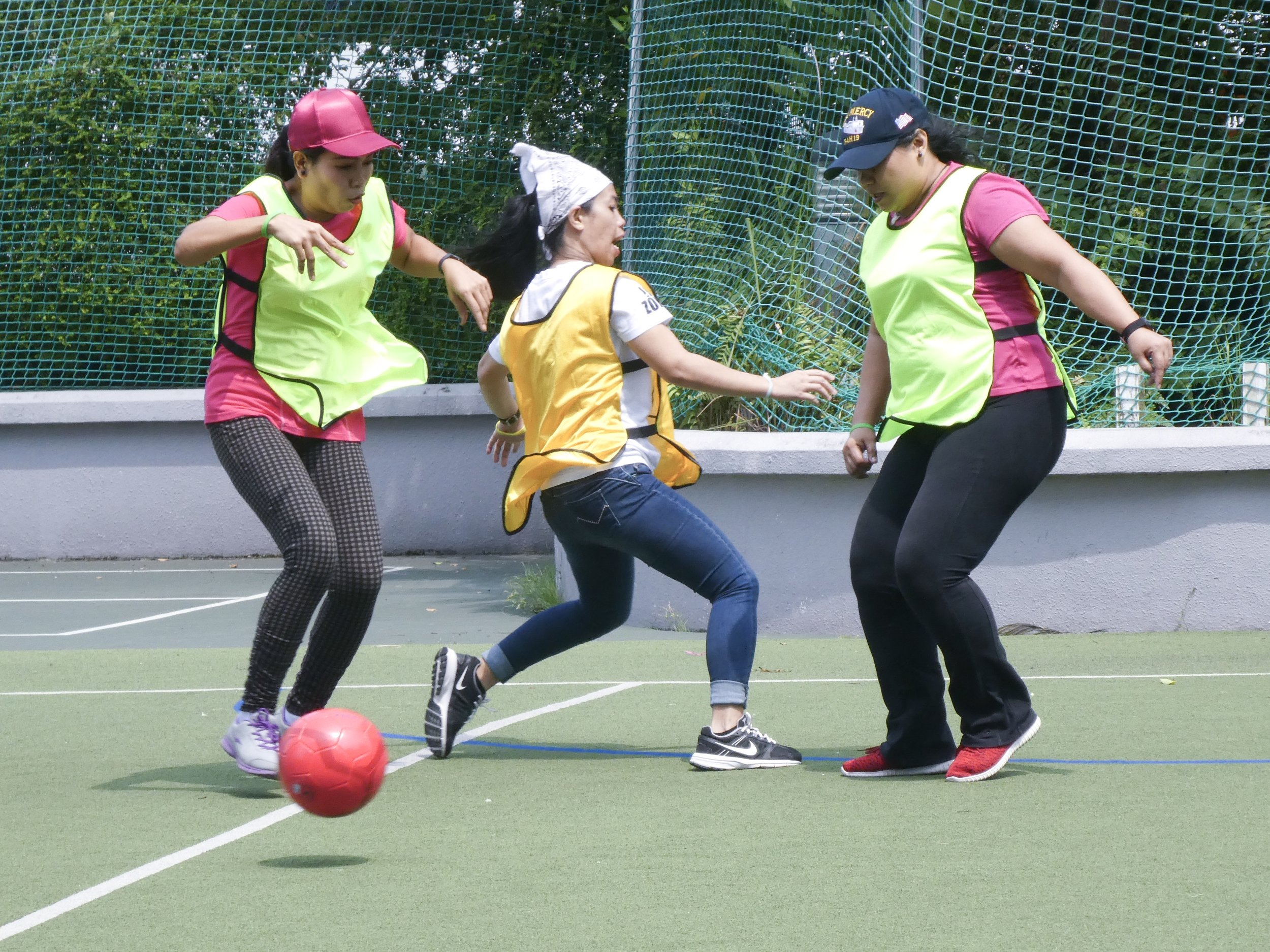 Our inaugural HOME-Aidha Sports Day for domestic workers