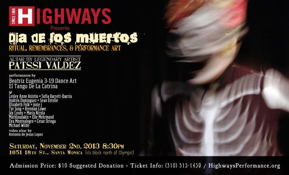 Dia De Los Muertos Performance