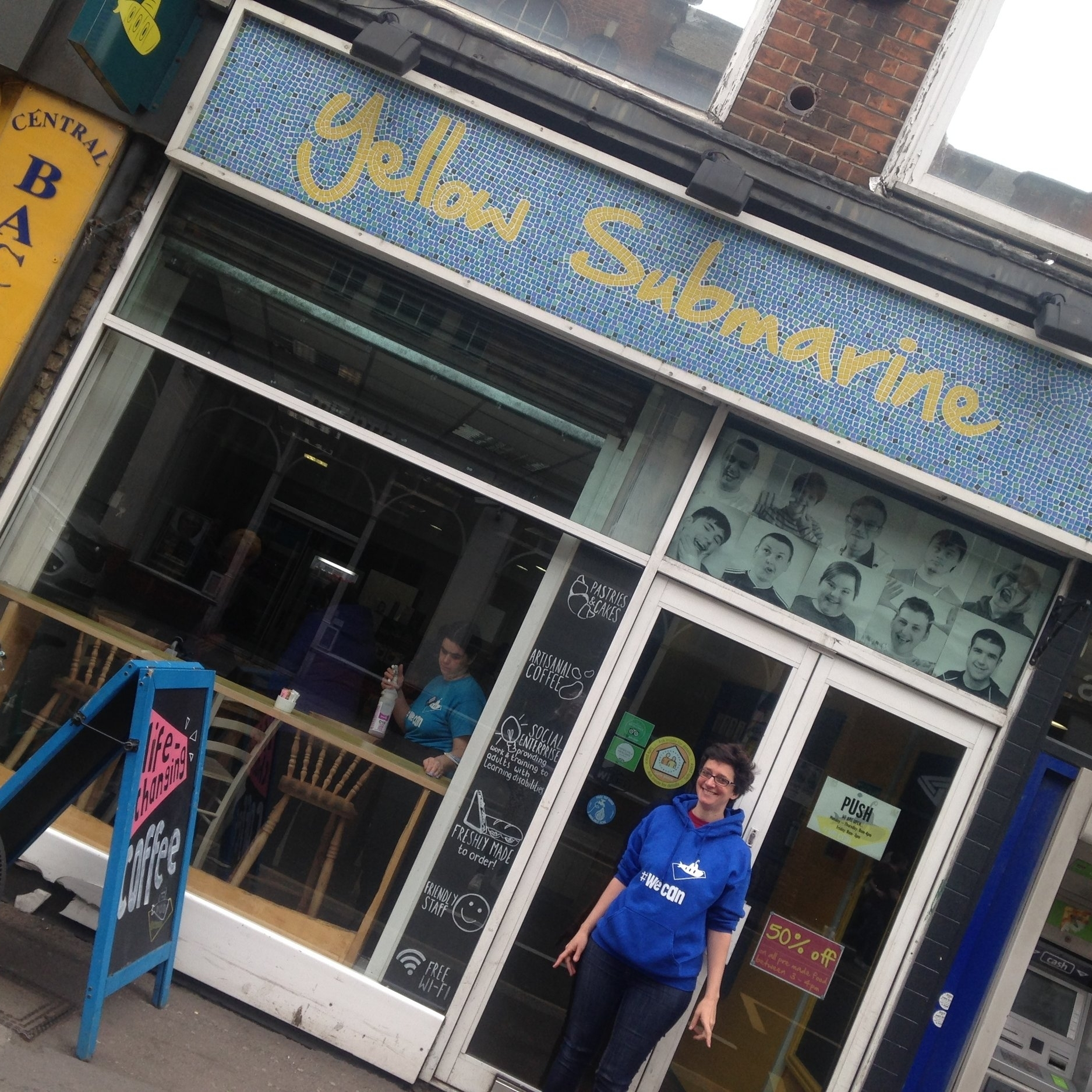 YELLOW SUBMARINE - Wonderful social enterprise, the Yellow Submarine is the latest outlet to join the Refill Oxford network in Oxford. Thanks, Charlotte!12 Park End Street, OX1 1HH01865 236116www.yellowsubmarine.org.uk