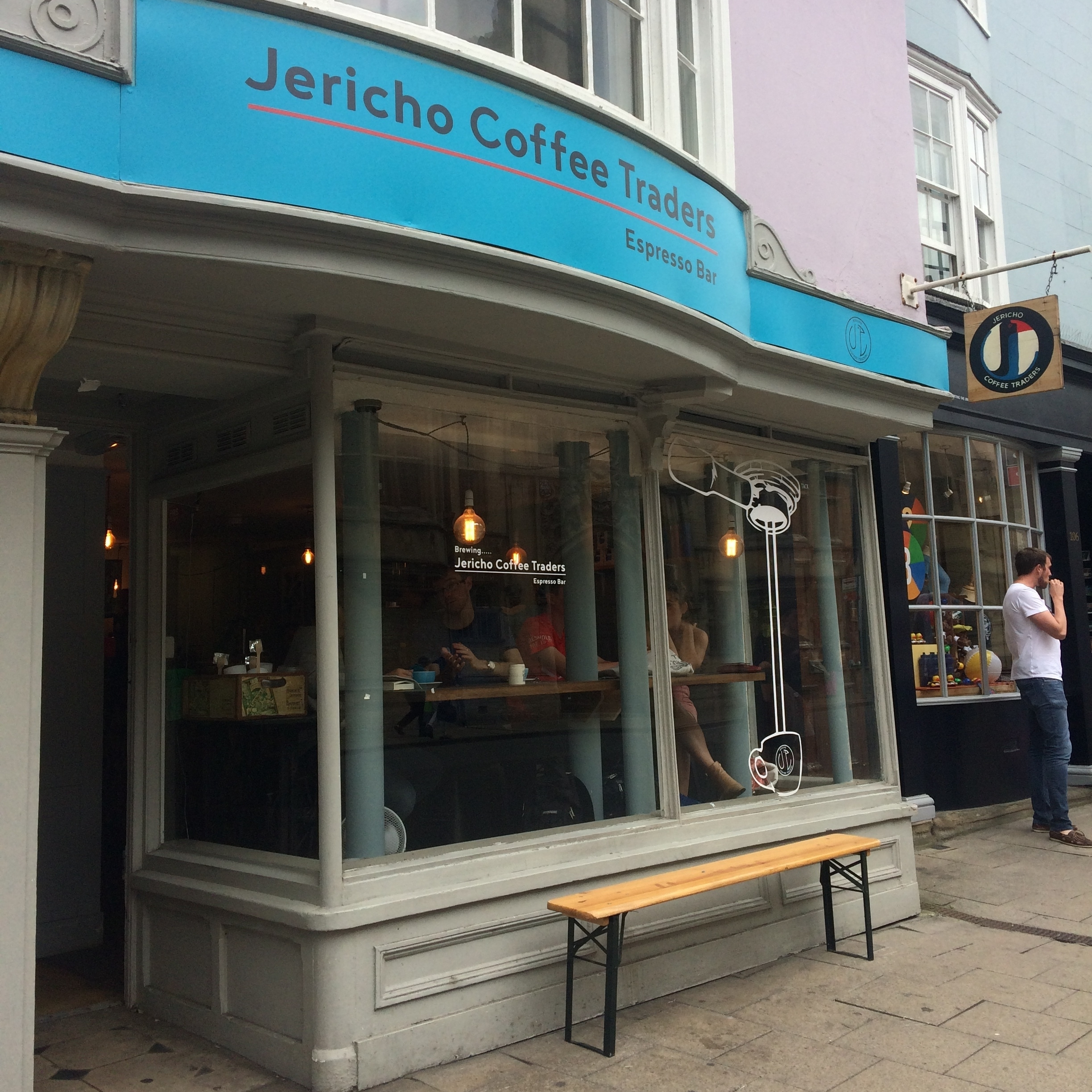 Jericho Coffee Traders - One of the wonders of Jericho. Delicious coffee and you can now refill your water bottle here too. Not only that, they even have their own reusable water bottles!105 High St, OX1 4BWwww.jerichocoffeetraders.com