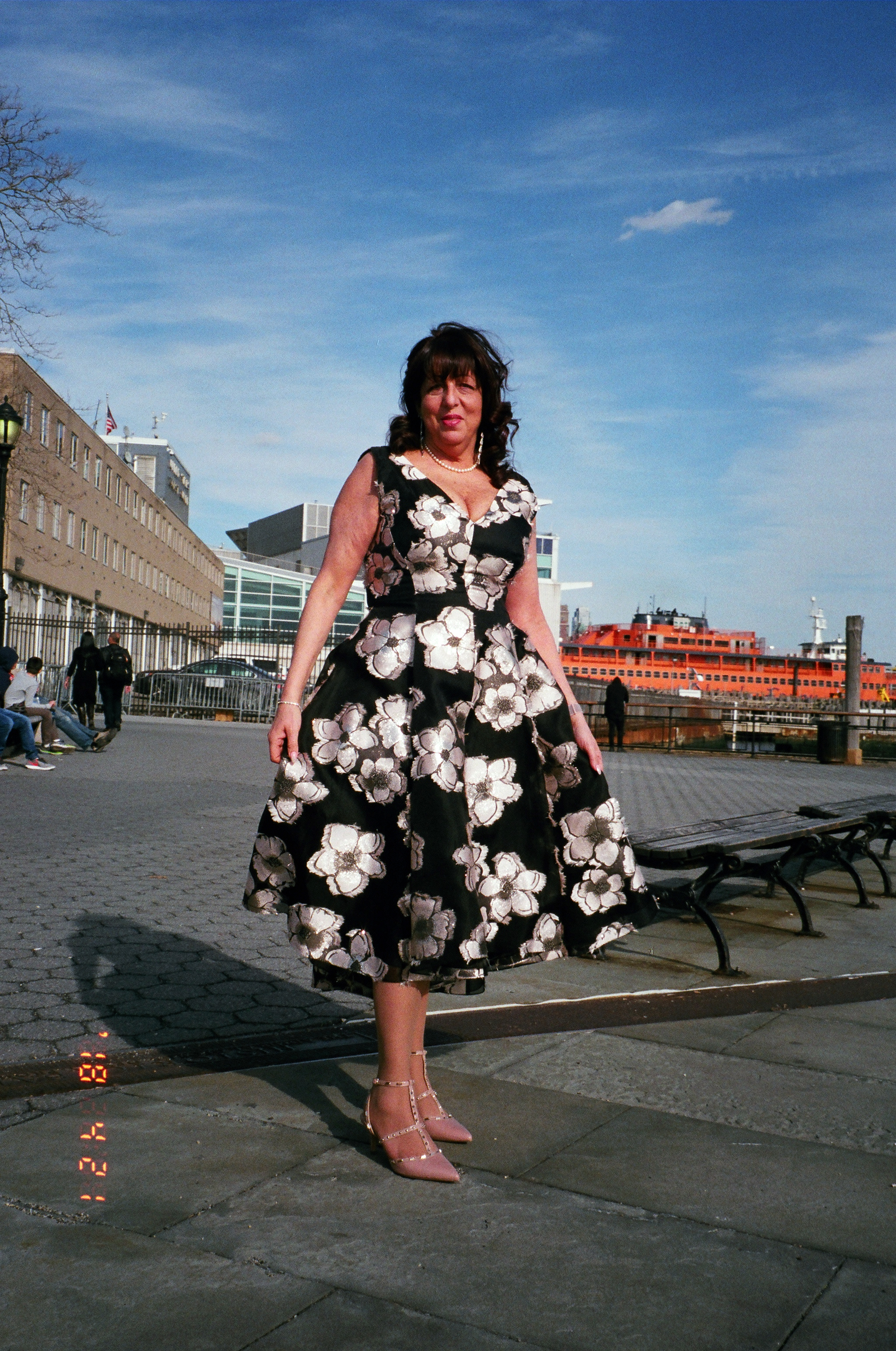 My Mother at NYC Wedding