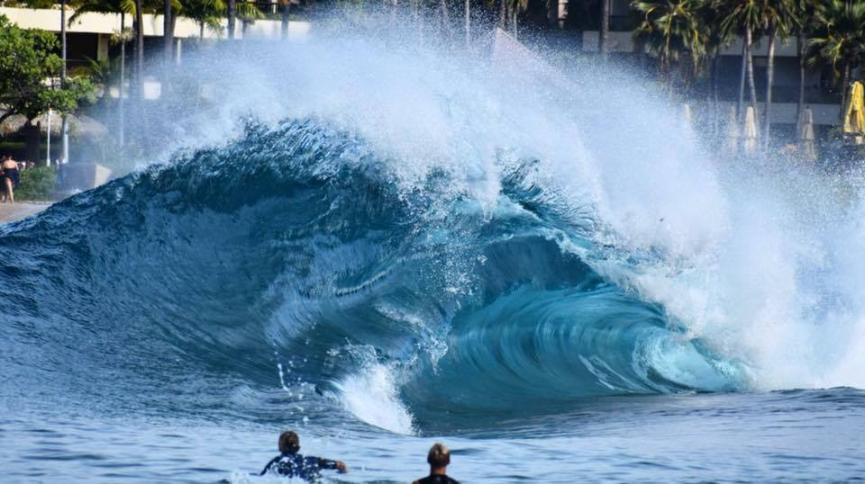 Hawaiian Shorebreak Madness  Photo by Brady Setzer