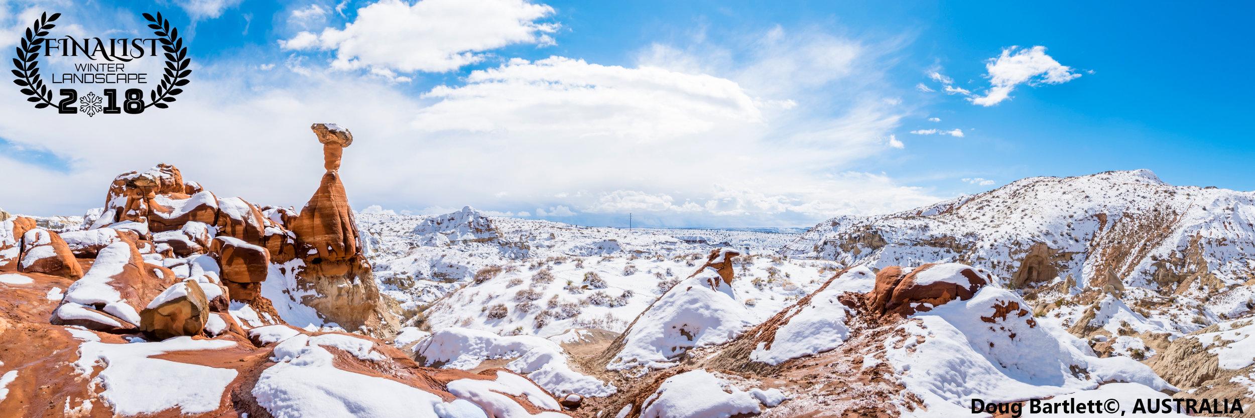 'Winter Toadstool Hoodoos'   Photographer: Doug Bartlett, AUSTRALIA