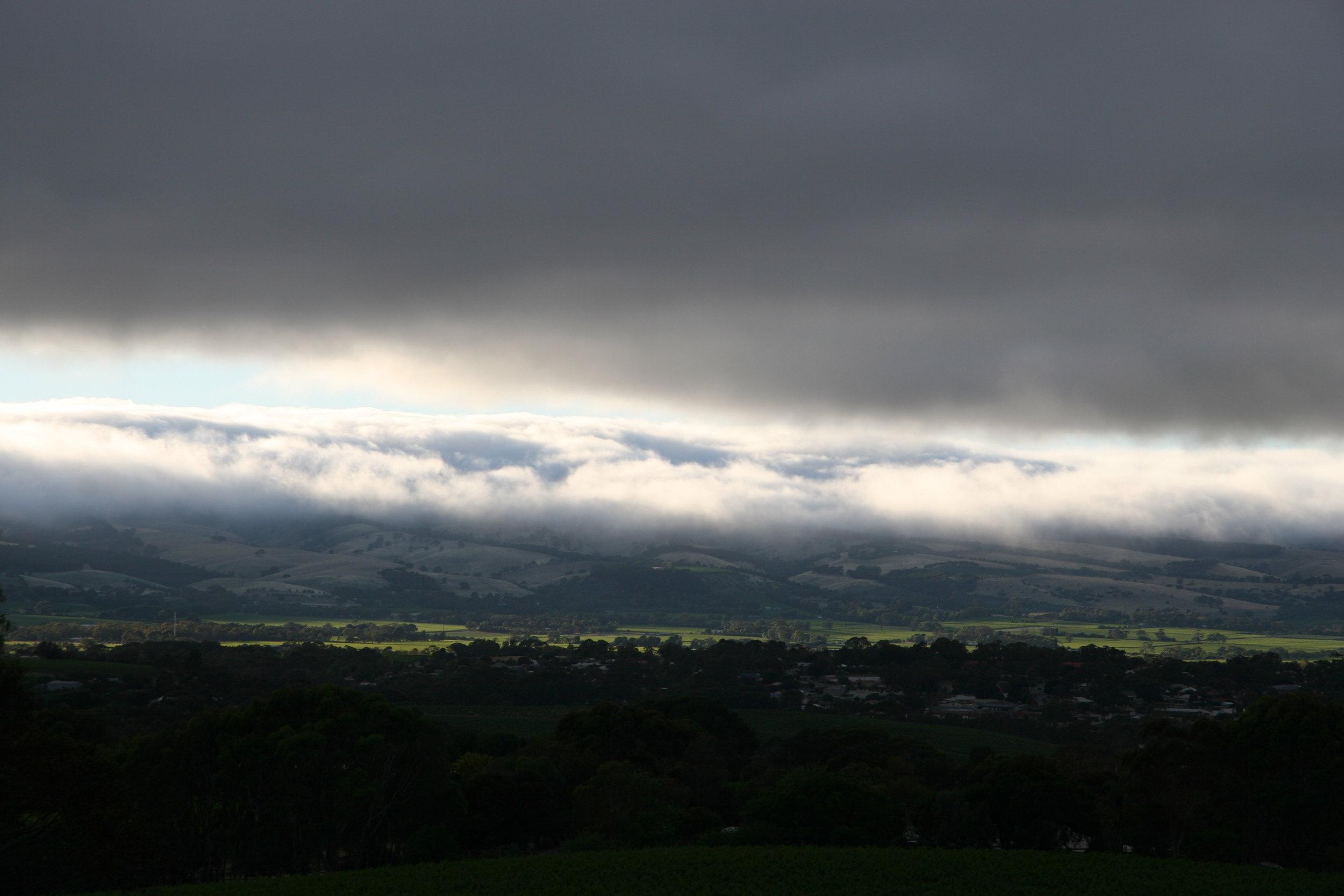 Breaking Cloud over The Vale.JPG
