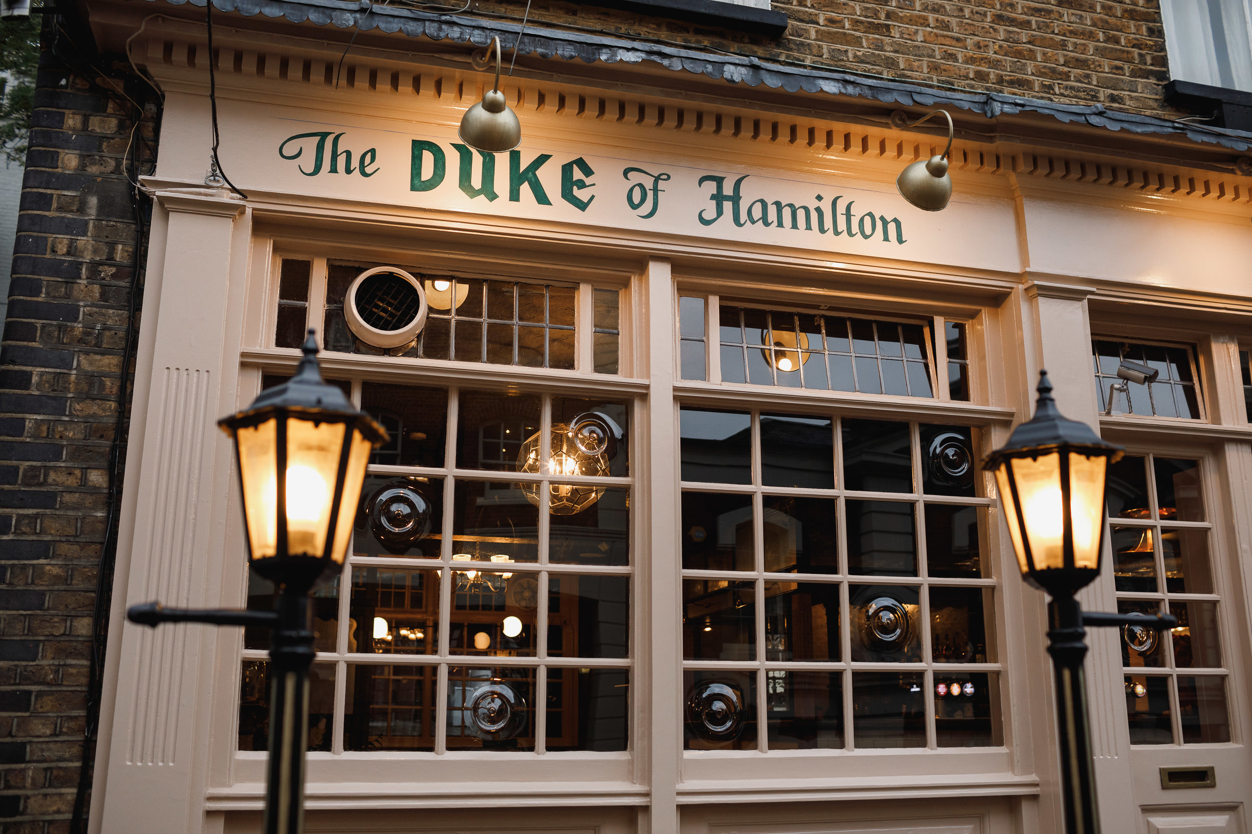 The Duke of Hamilton Pub - The iconic Duke of Hamilton pub has been a core part of Hampstead life since 1721 and boasts a rich history and heritage. Lovingly restored by local brothers Ben and Ed, and their best friend, Adam, it serves up an all-day menu of delicious, seasonal food and drink.