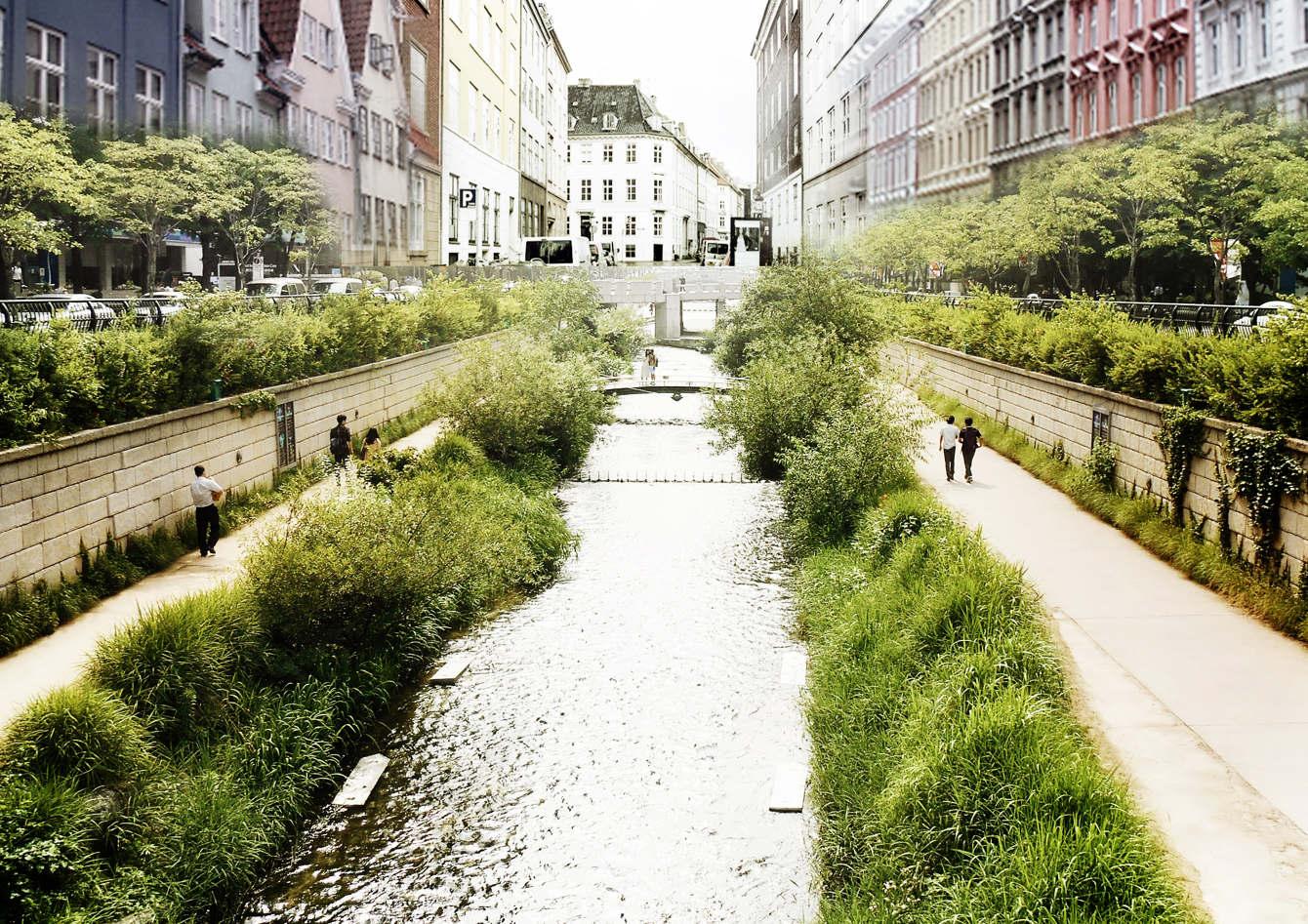 THE CANAL CITY IN COPENHAGEN IN 2050