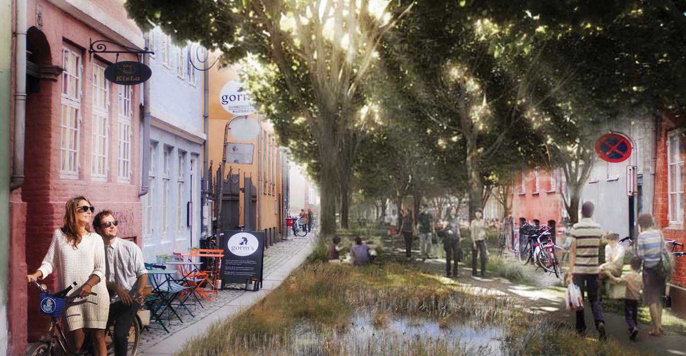 GULDSMEDEGADE IN ÅRHUS IN 2050
