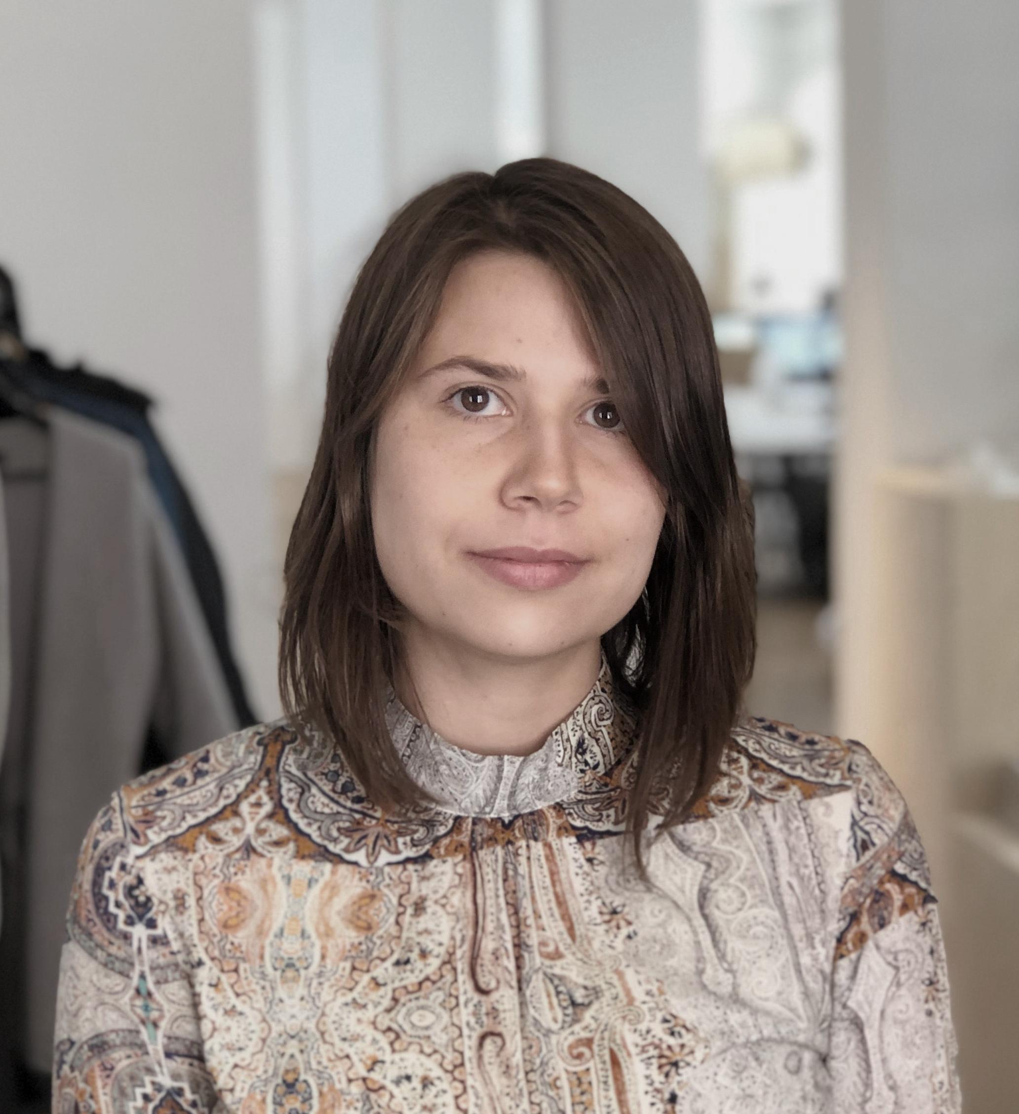 Marta Zabik  Design Assistant  mz@we-a.dk