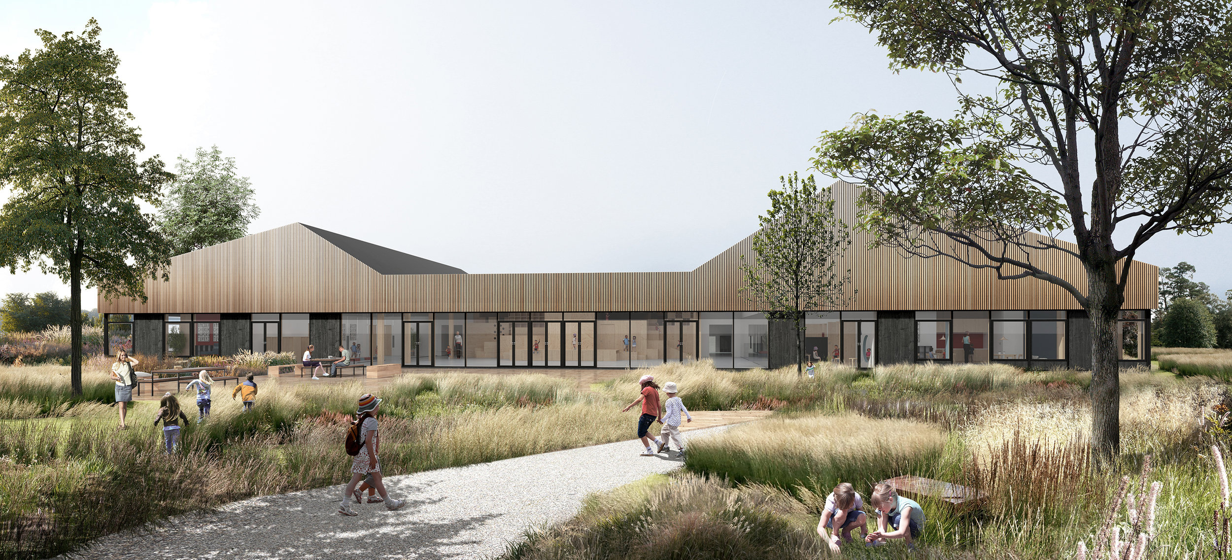 - Life and Learning Center Hashøj breaks down the division between the learning environment and the recreational lifeRead more here