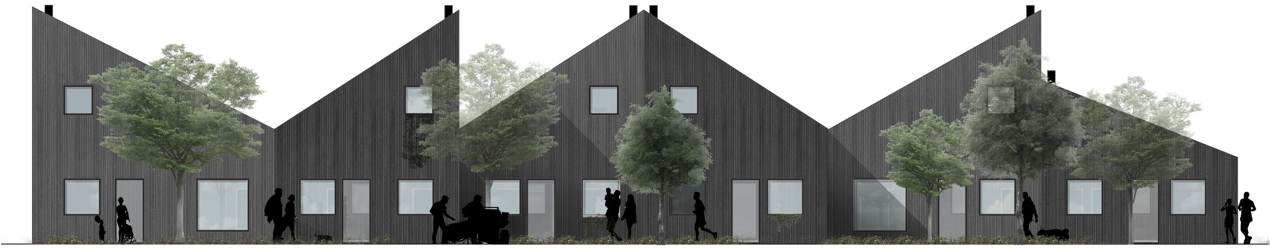 The first 44 houses in Tofteengen north of Roskilde will be ready in December 2019.