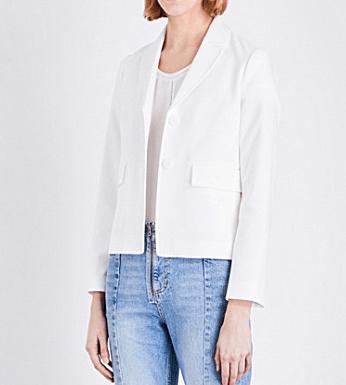 White Maje jacket
