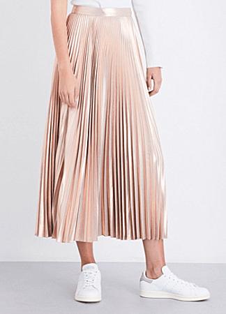 ALC pleated skirt