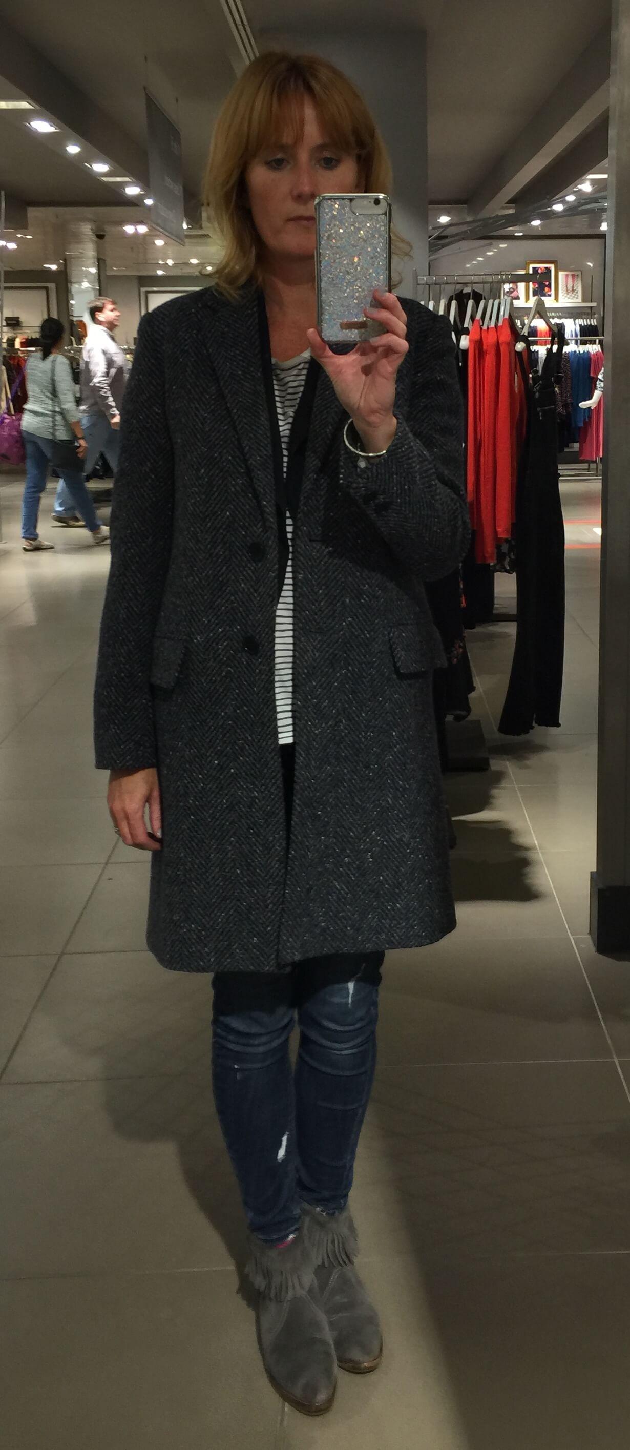 Tweed Jigsaw Coat