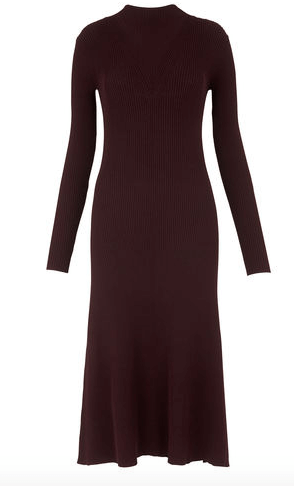 Whistles fit and flare dress