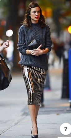 Alexa sparkly skirt.png