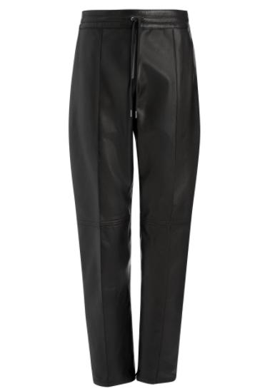 Joseph Leather Trousers on sale