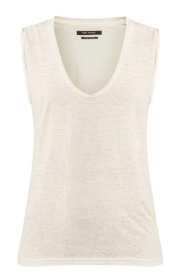 Simple white tee shirt | Isabel Marant