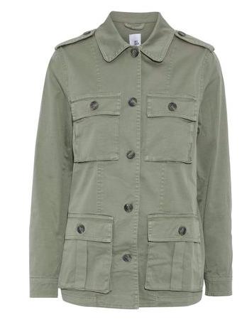 Khaki Jacket | Iris & Ink