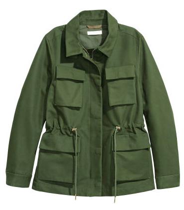 Khaki Jacket | H&M