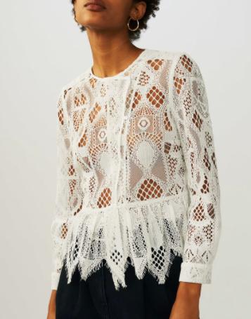 Gorgeous lace blouse | Maje